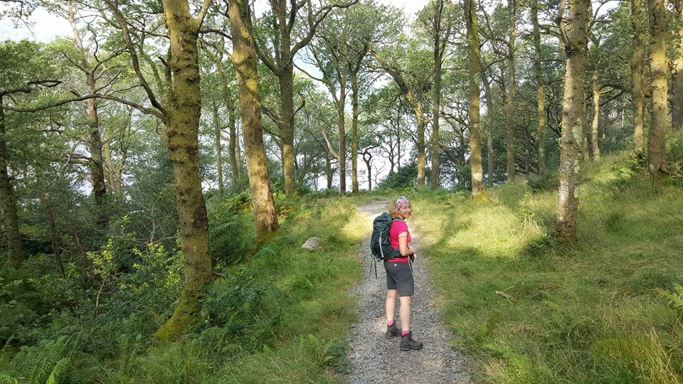 Forest trails to start on route to Inverarnan