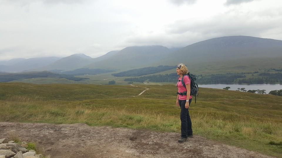Loch Tulla behind