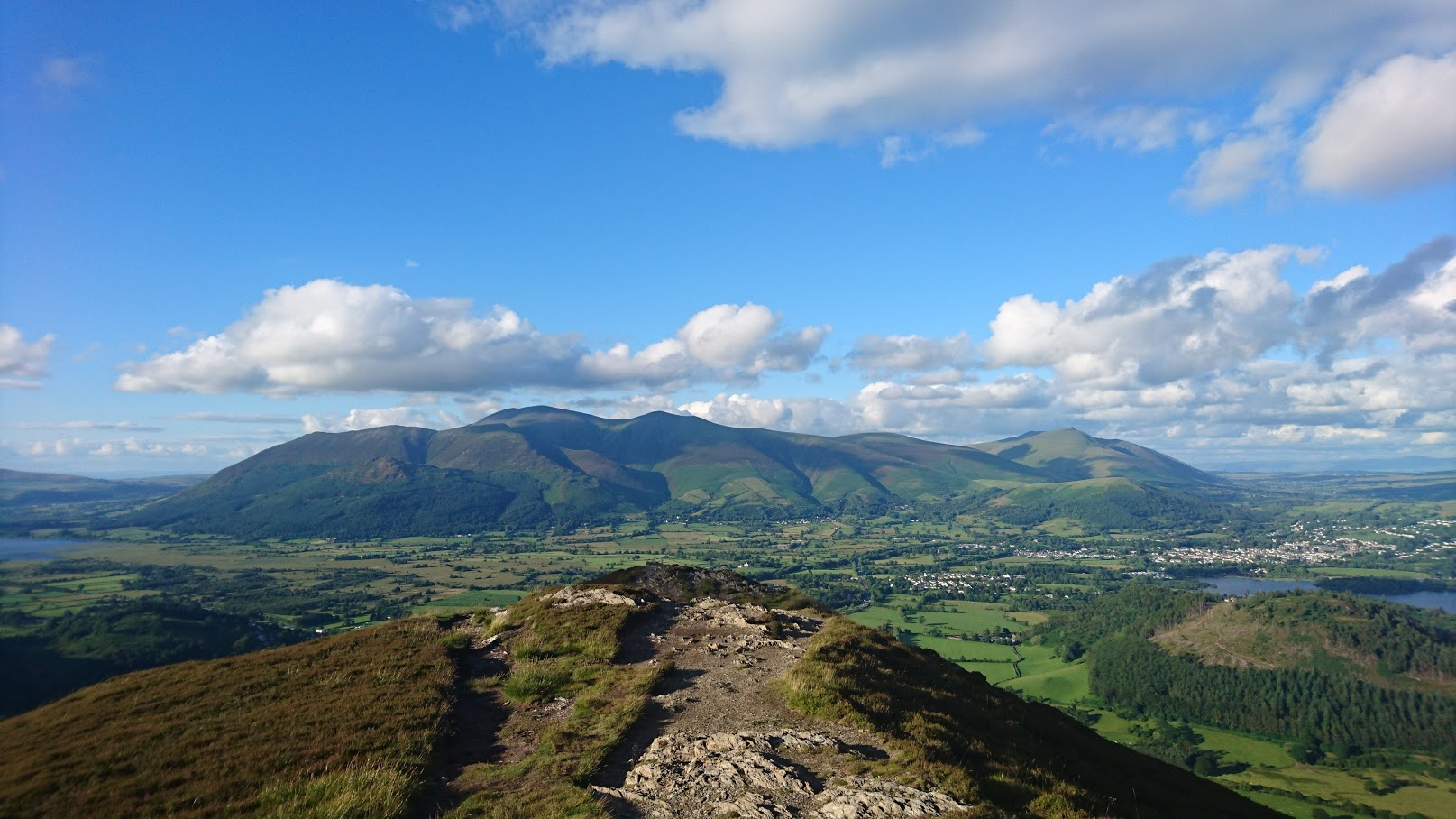 Skiddaw from Barrow