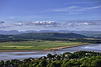 View from Arnside at the End of the Westmorland Way