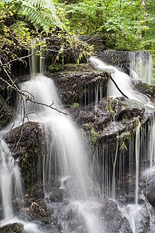 rob roy way waterfall