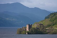 Great Glen Way - castle views