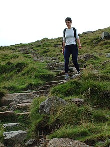 Steep Descent on the Cleveland Way