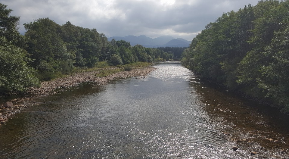 Crossing the River Fillan