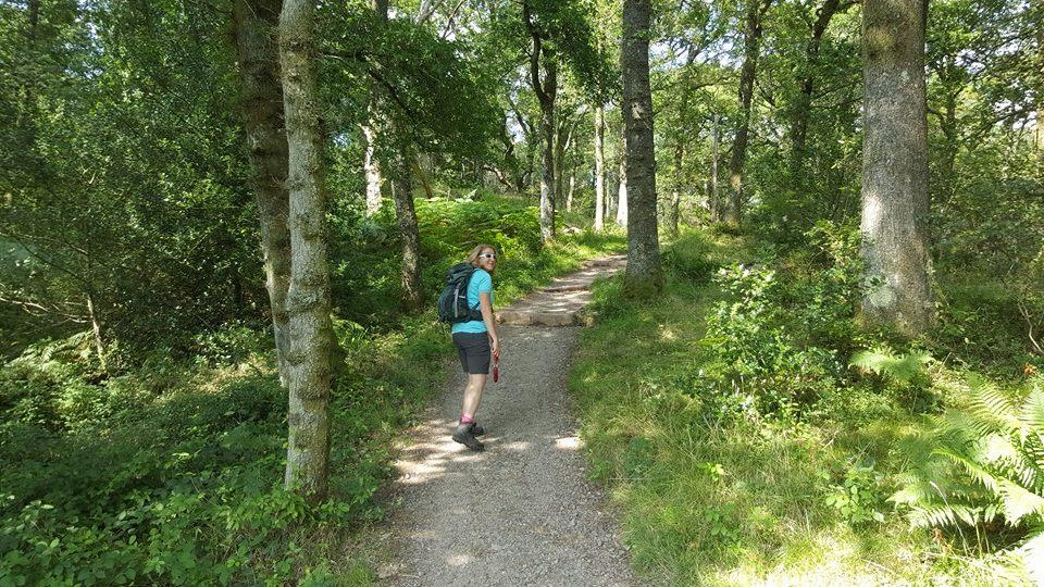 More Loch side path