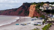 Budleigh Salterton Cliffs - South Devon Coast Path