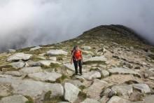 Climbing Goat Fell
