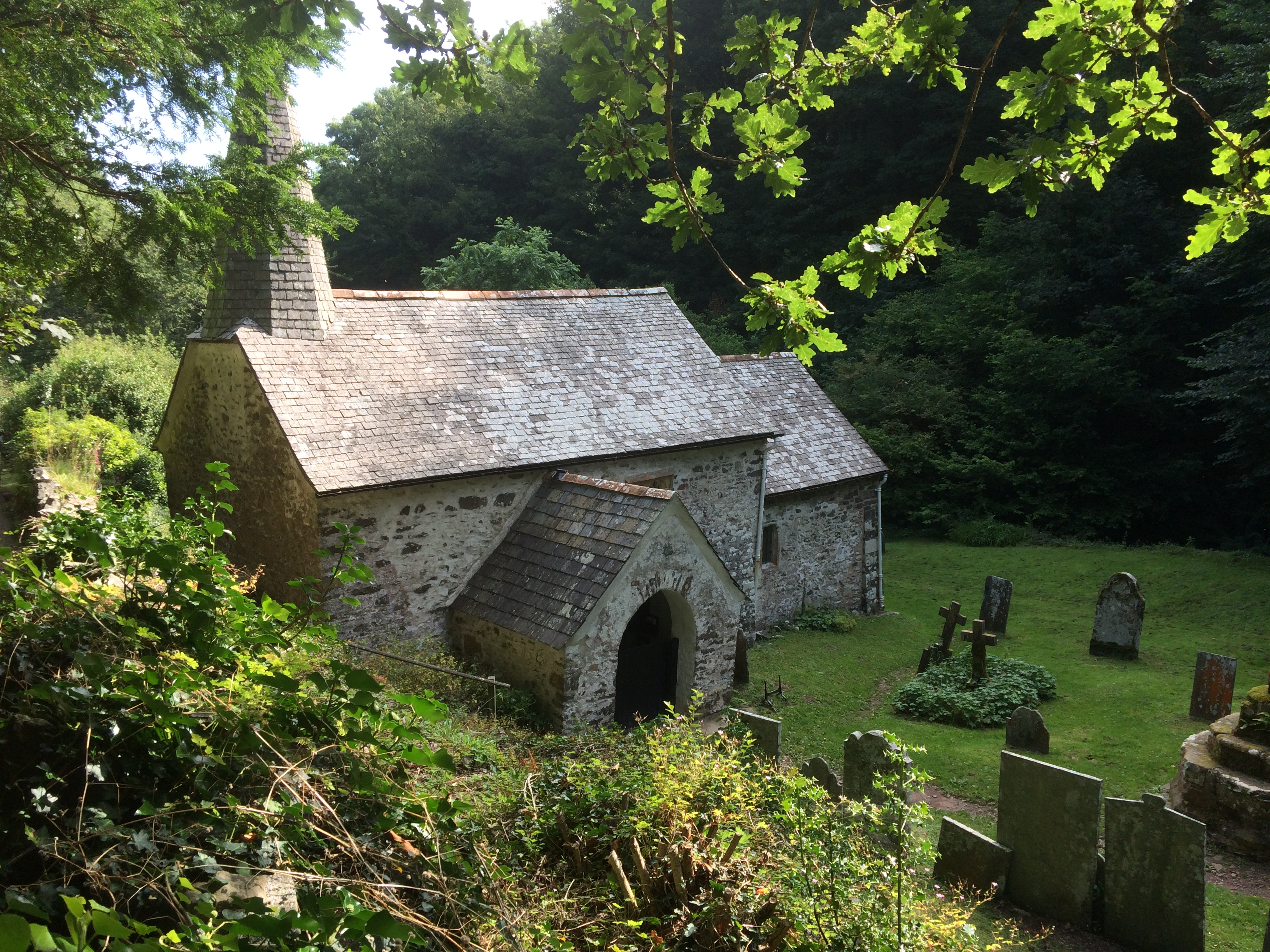 Culbone Church Exterior