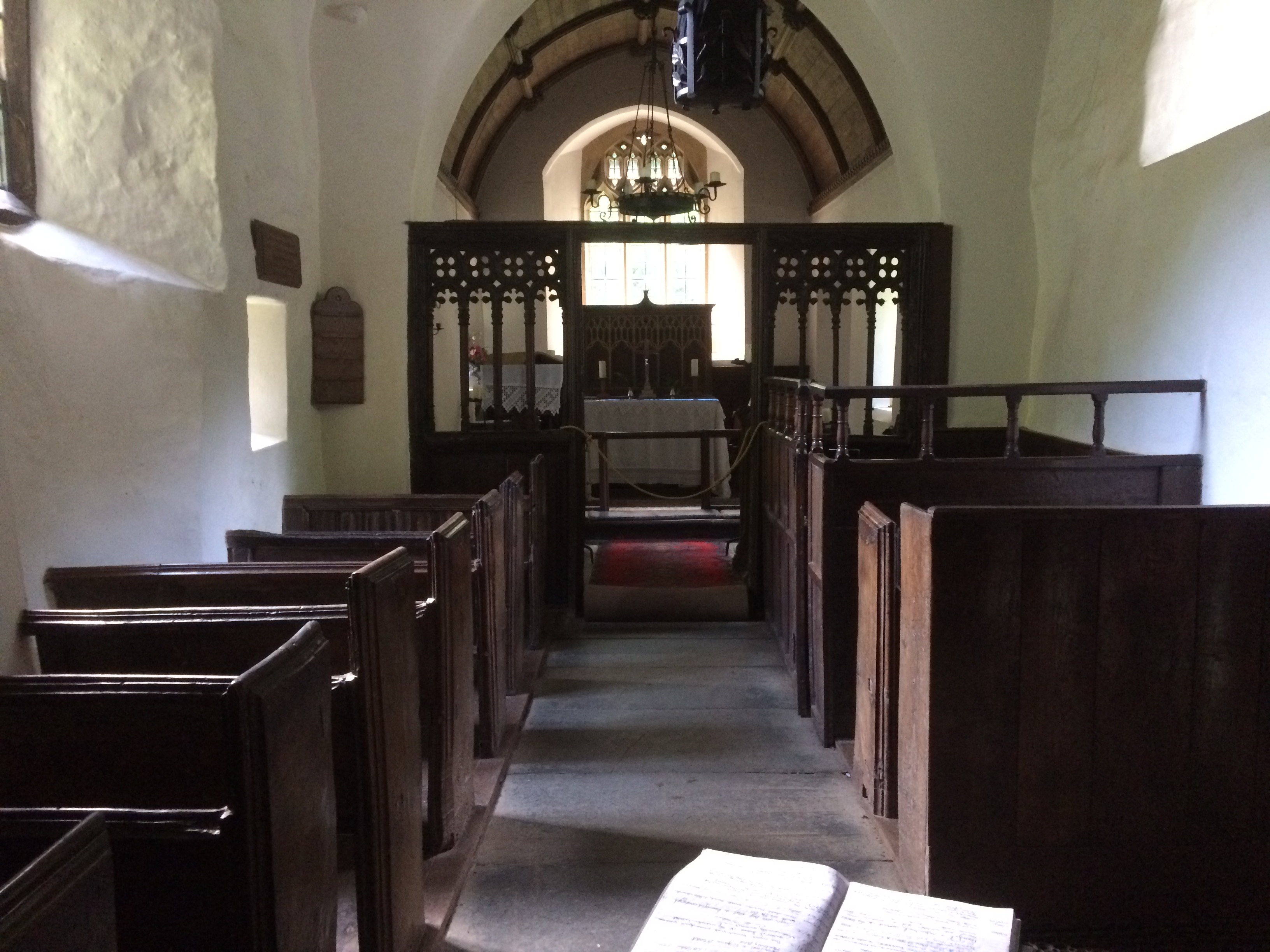 Culbone Church Interior