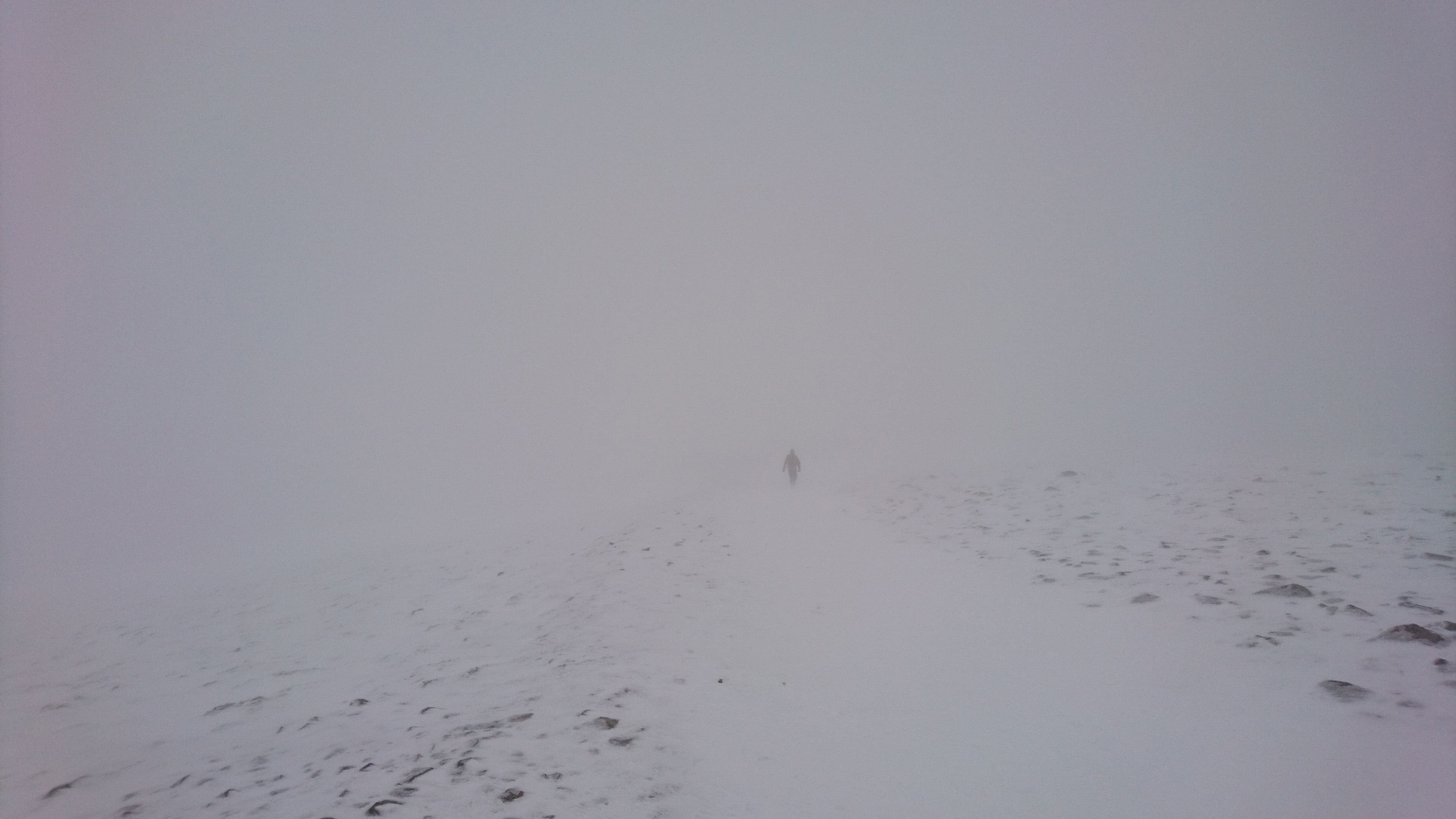 Going home off Helvellyn