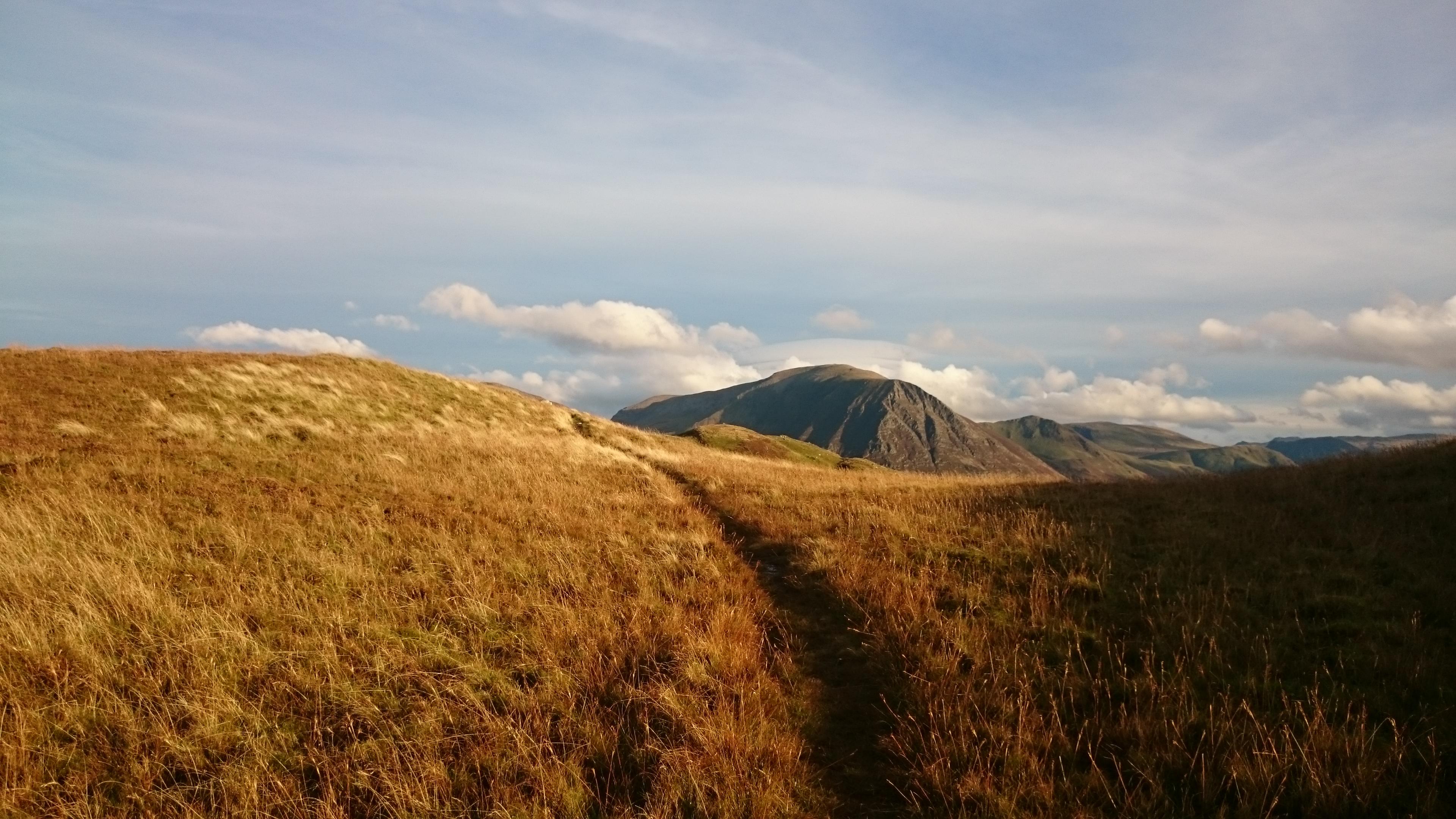 Grasmoor from Darling Fell