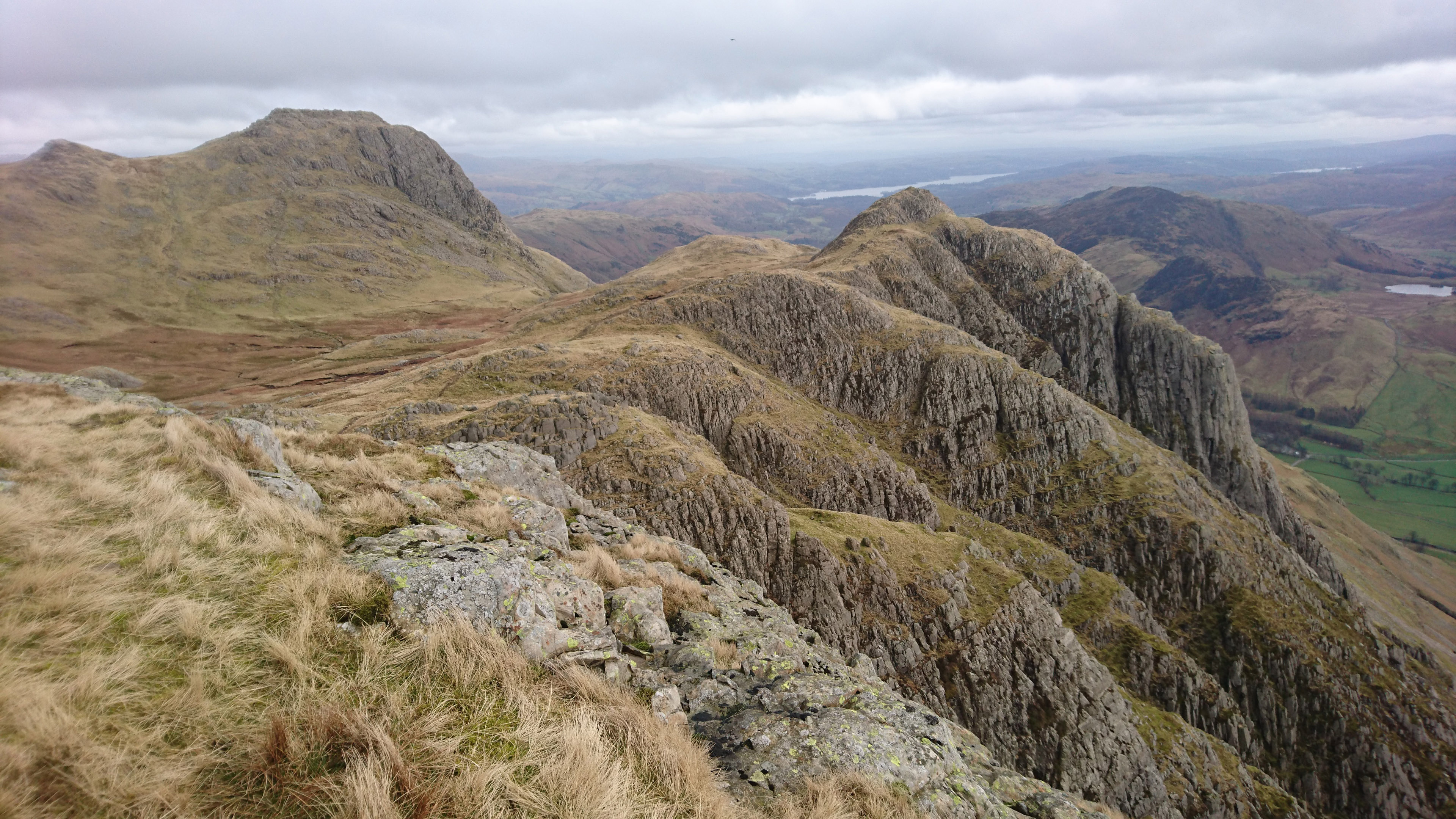Harrison Stickle and Loft Crag