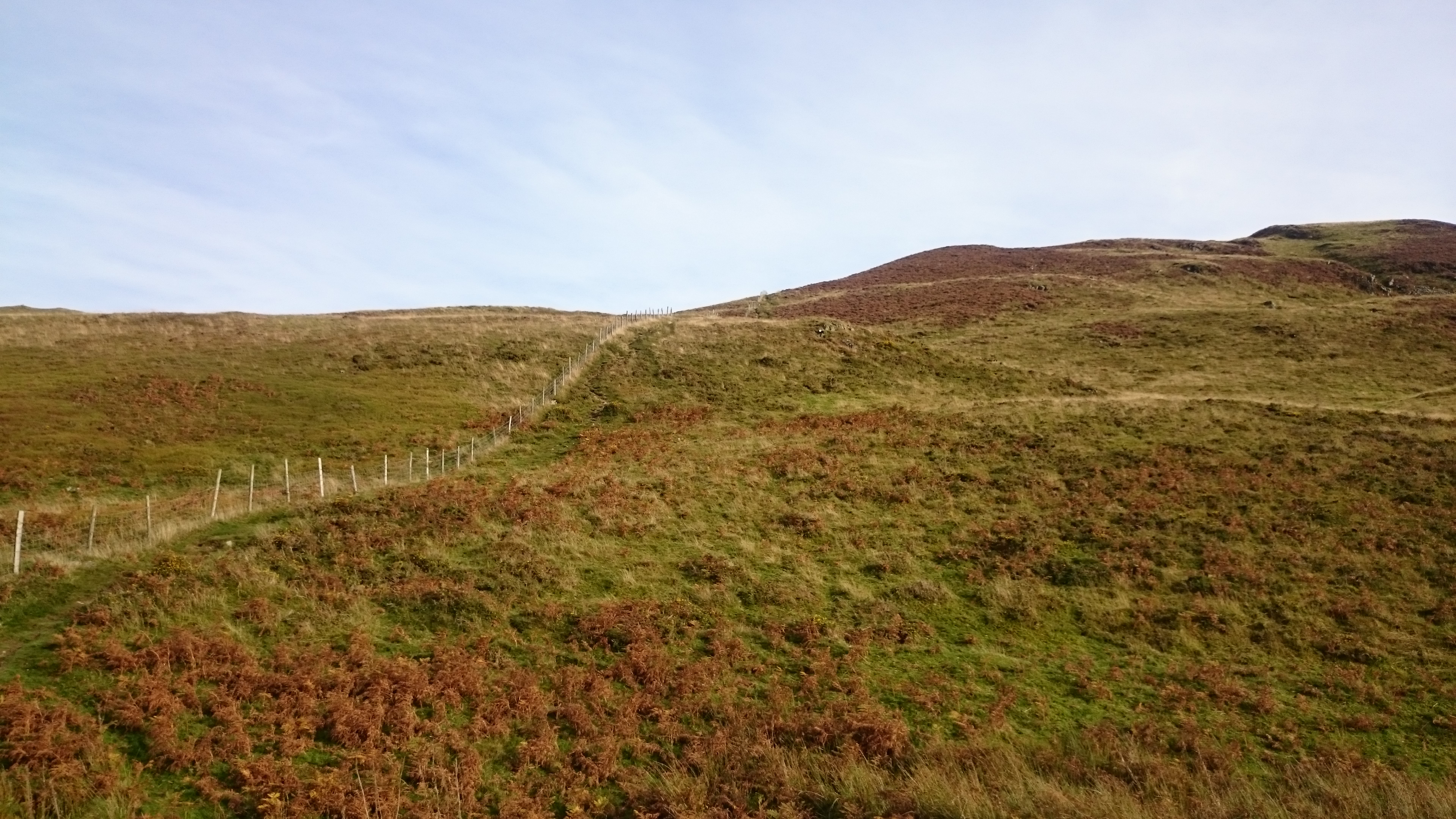 Heading for Low Fell