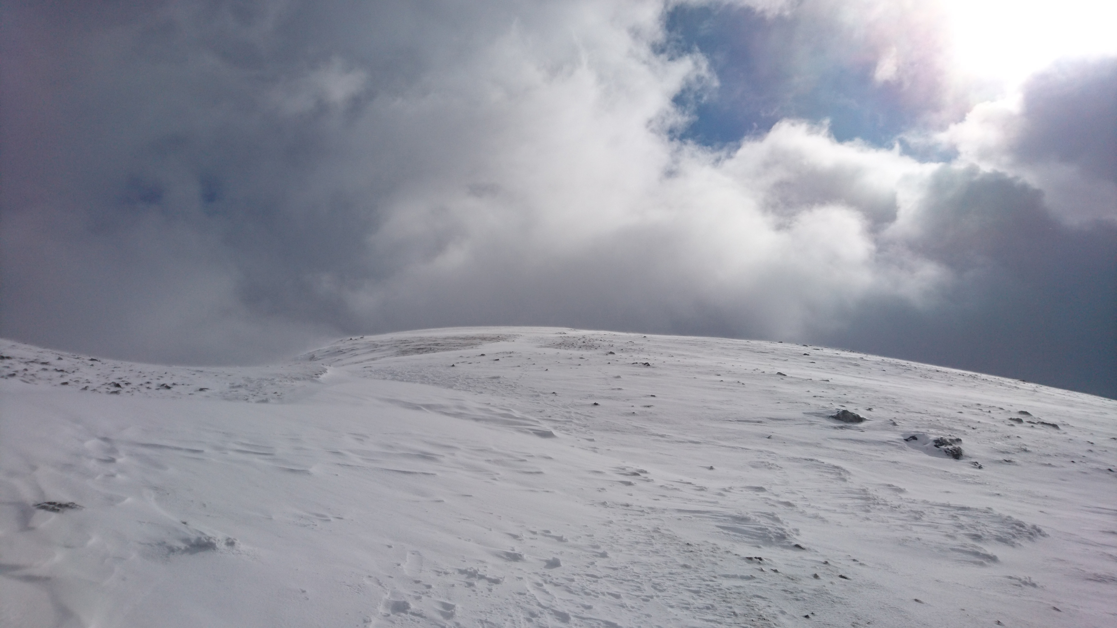 Heading up onto Helvellyn