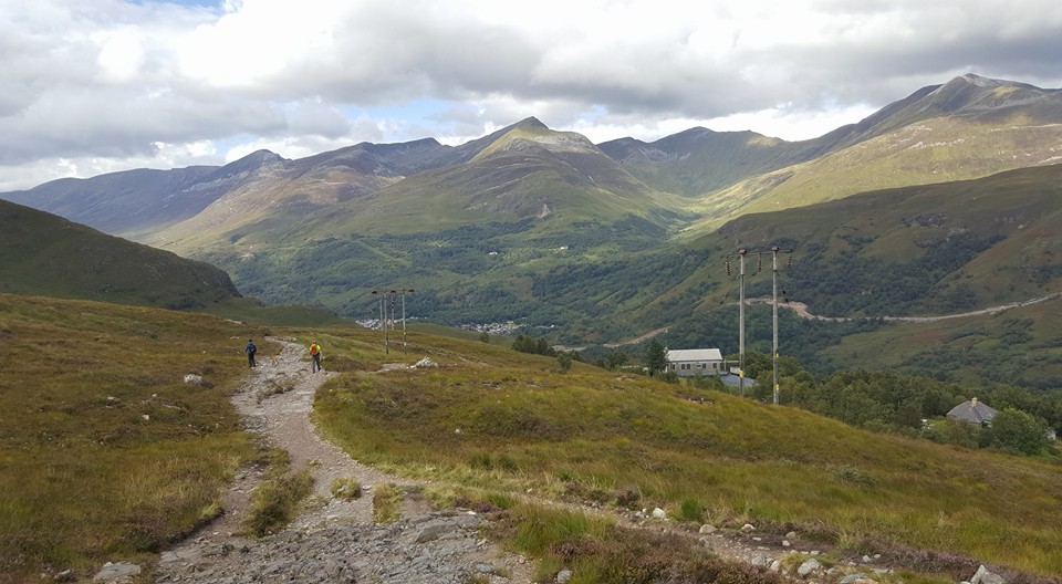 Kinlochleven coming into view