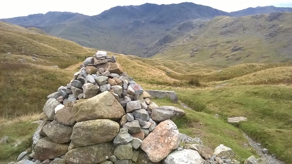 Langdale to Rosthwaite on the Cumbria Way
