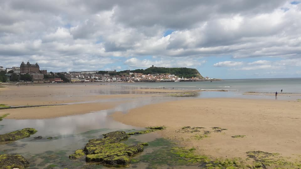 Looking back to Scarborough