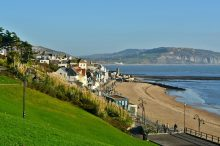 Lyme Regis on the South Devon Coast Path