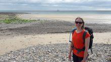 On the beach, Robin Hood's Bay