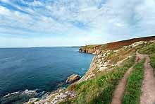 South West Coast Path at Rinsey Head