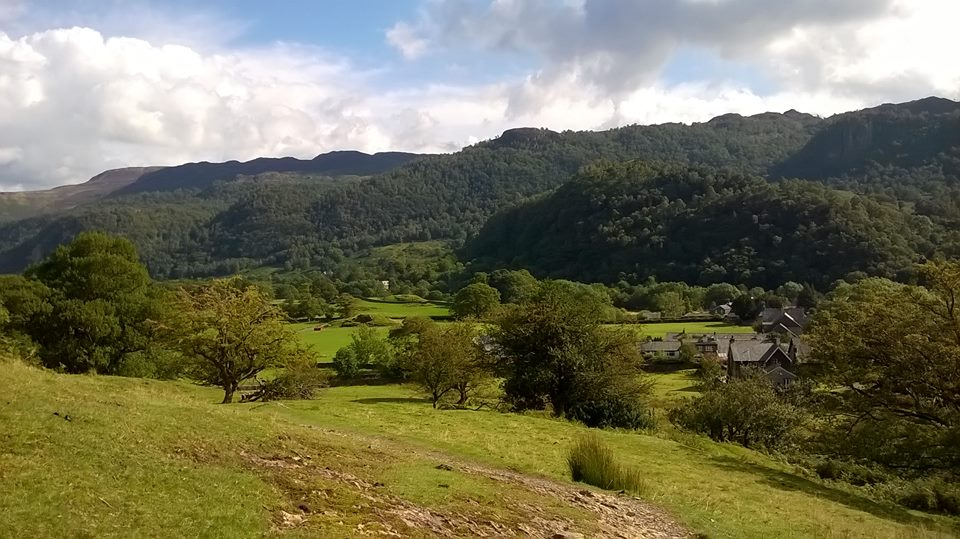 Rosthwaite to Keswick on the Cumbria Way