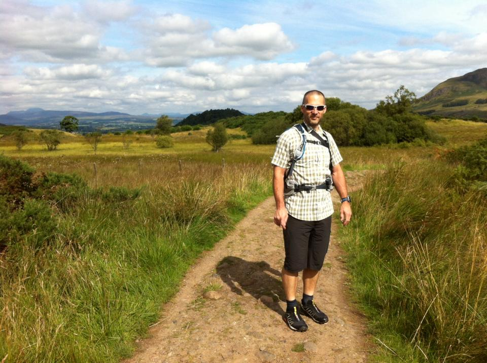 Scott on the West Highland Way