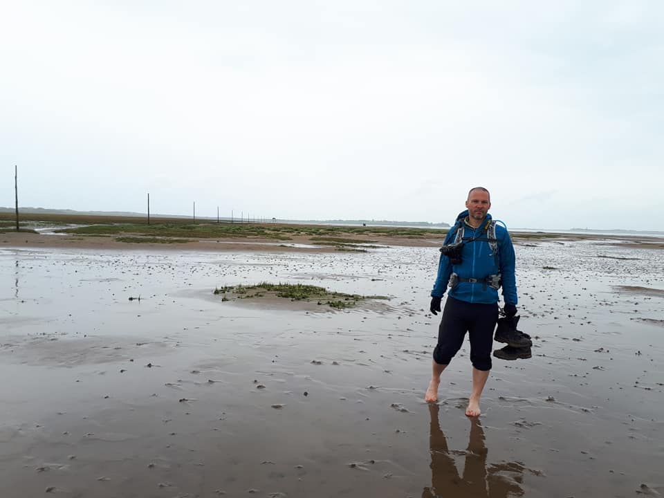 St Cuthbert's Way - Fenwick to the Holy Island of Lindisfarne.