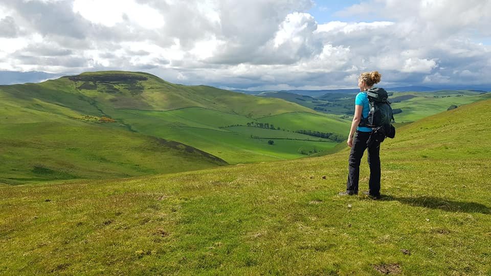 St Cuthberts Way - Morebattle to Kirk Yetholm
