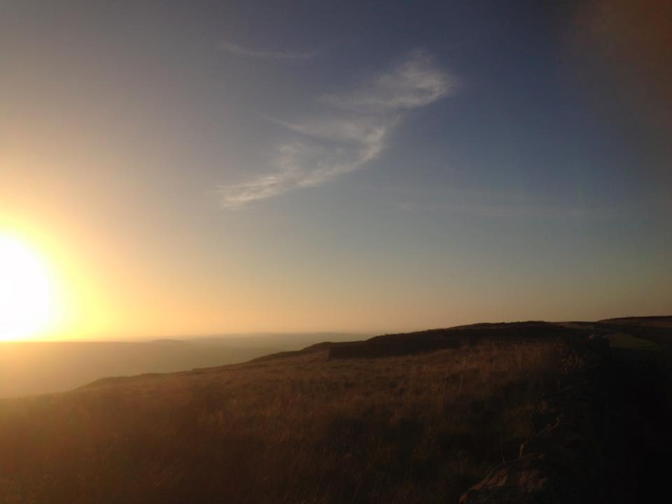 Sunrise over the North York Moors