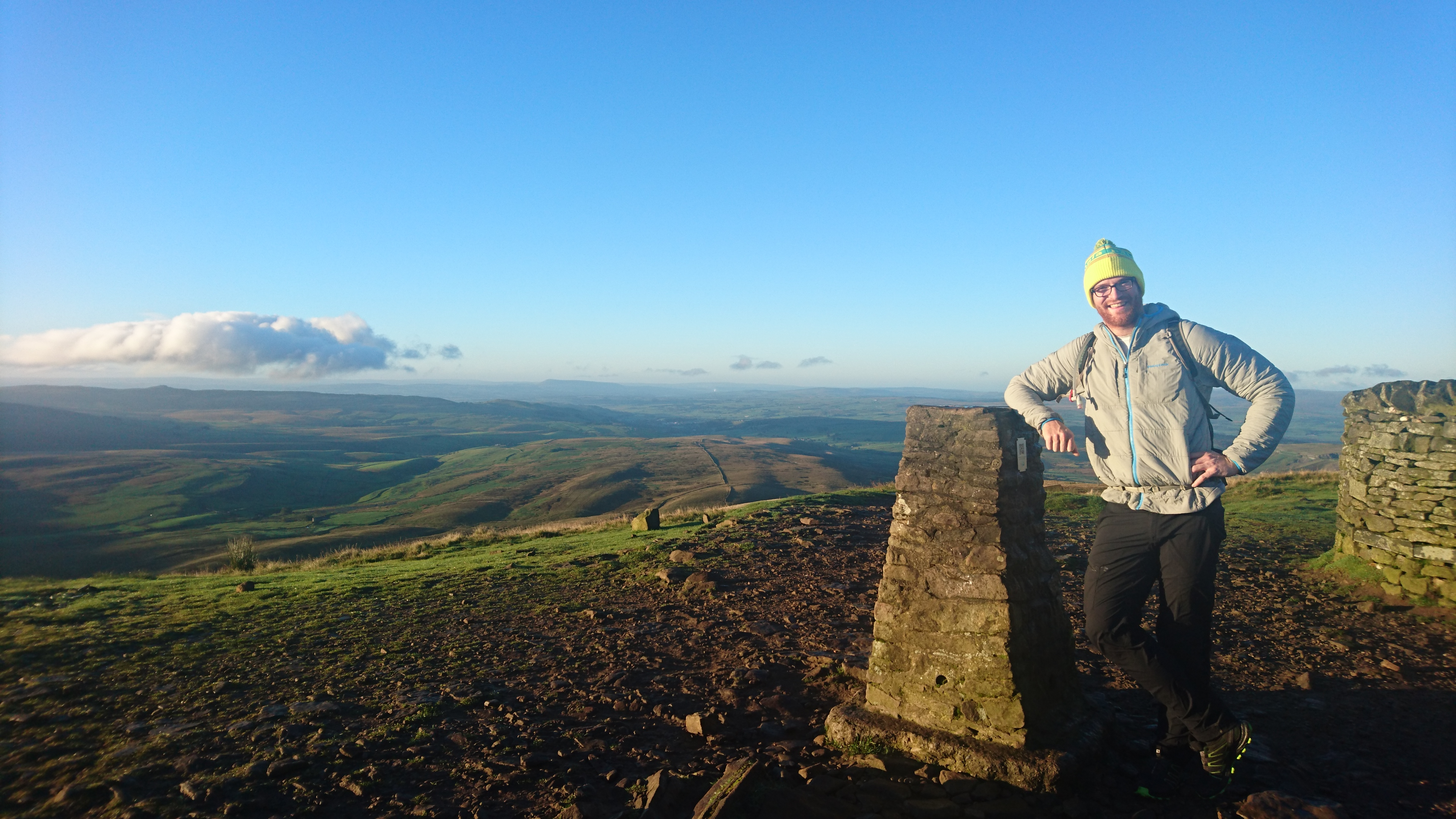 Tall Paul on Pen y Ghent