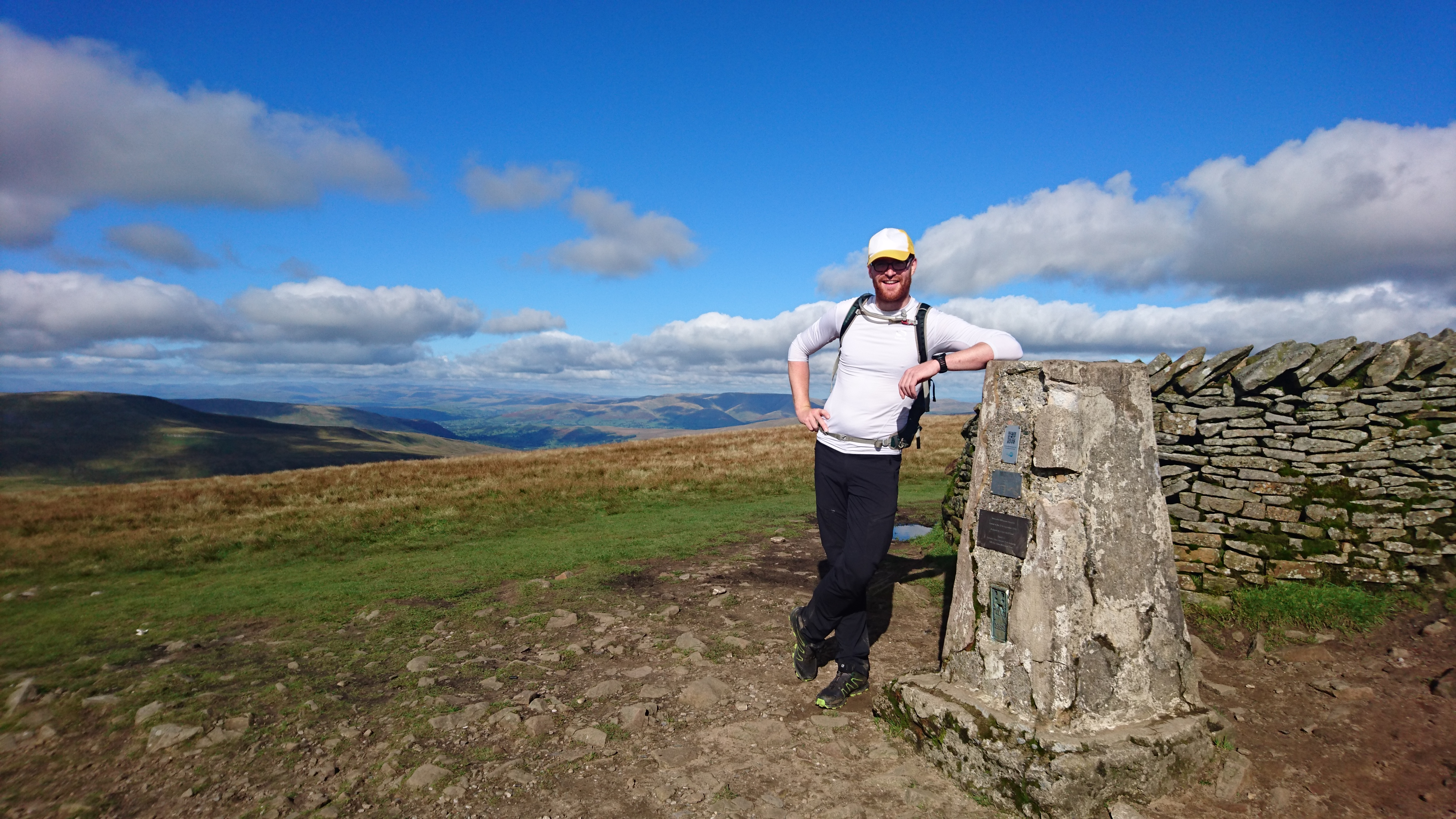 Tall Paul on Whernside