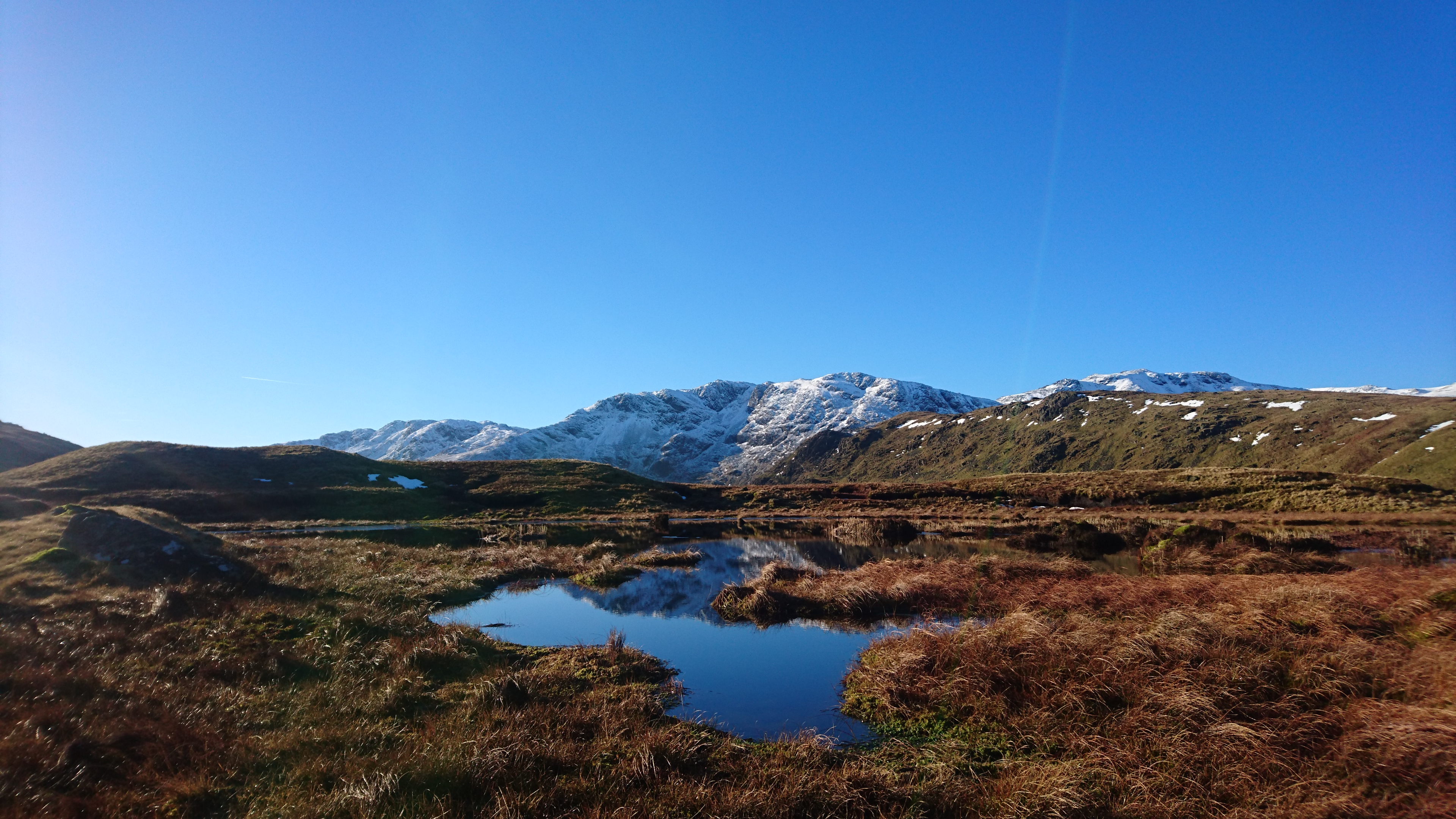 Tarn by Rossett Pike