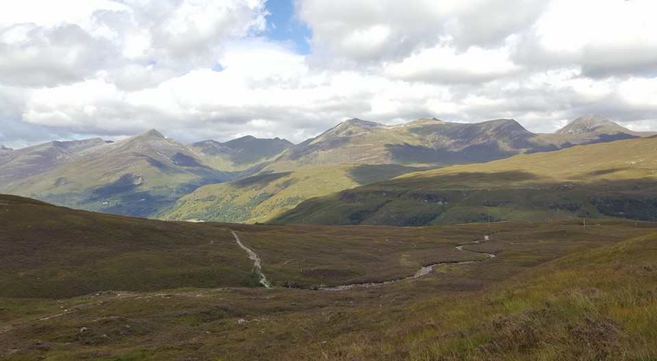 The route down into Kinlochleven
