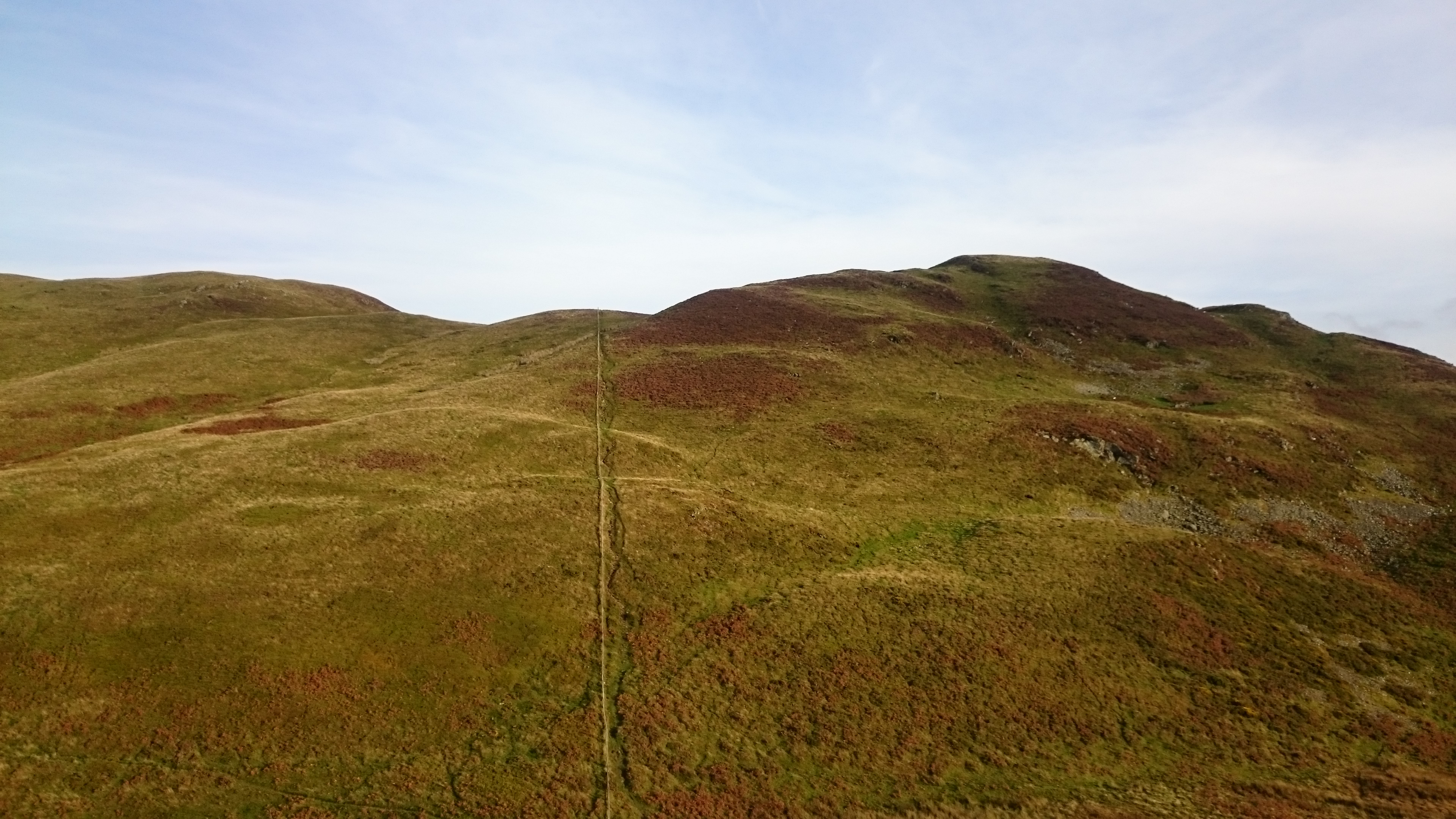 The two main tops of Low Fell
