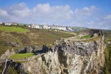 Tintagel Castle - South West Coast Path