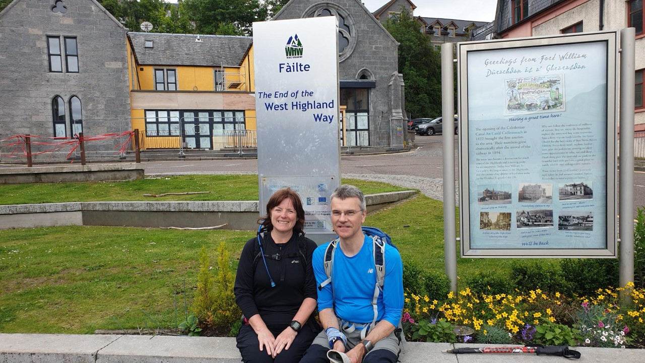West Highland Way Day 7 Kinlochleven to Fort William