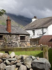 Lake District Farm on the Inn Way