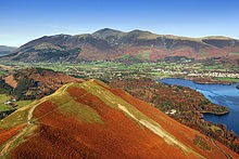 Cat Bells and Skiddaw