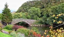 The bridge at Grange in the Borrowdale Valley