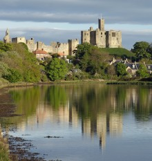 WarkworthCastle Reflections